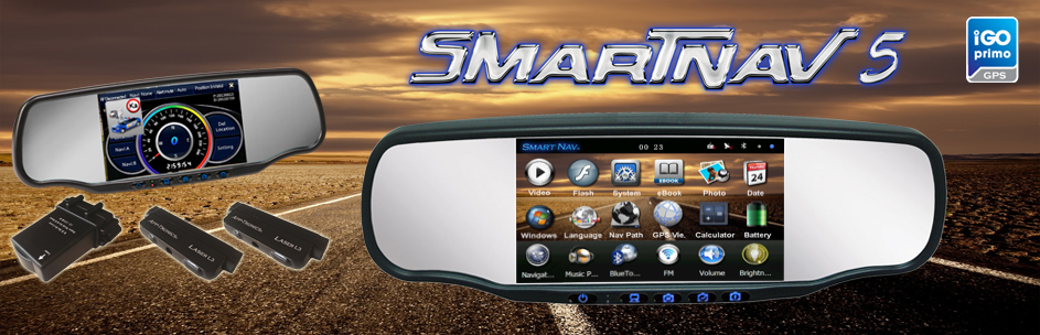The Smart Nav 5 with Radar